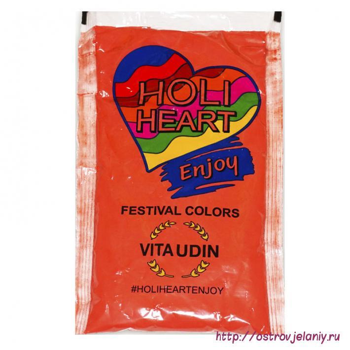 Краска Холи, Красный, 120 гр