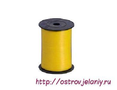 Лента (0,5 см х 500 м) Желтый