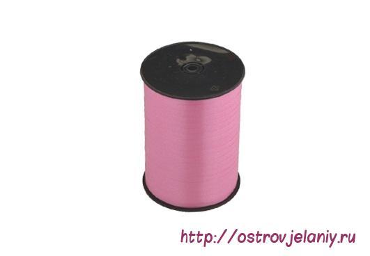 Лента (0,5 см х 500 м) Розовый