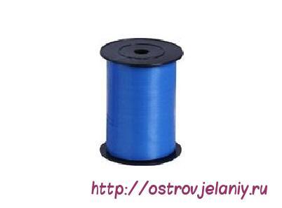 Лента (0,5 см х 500 м) Синий