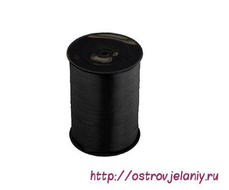 Лента (0,5 см х 500 м) Черный