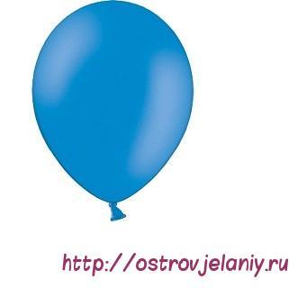 Шар (5''/13 см) Синий, пастель