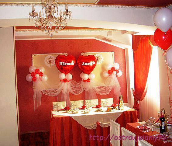 Кто оформлял зал на свадьбу своими руками