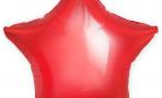 Шар (18''/46 см) Звезда, Красный